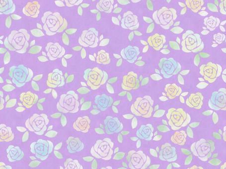 玫瑰連接壁紙粉紅色
