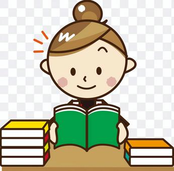 一個人讀書_A51
