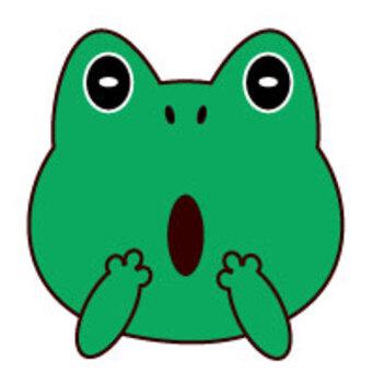 蛙驚訝的臉2