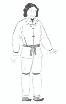 【Handwritten】 Ancient man · Japanese myth (welcome)