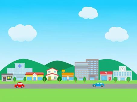 Cityscape building landscape