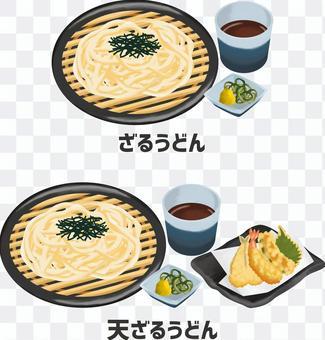 扎魯烏冬面圖set_82