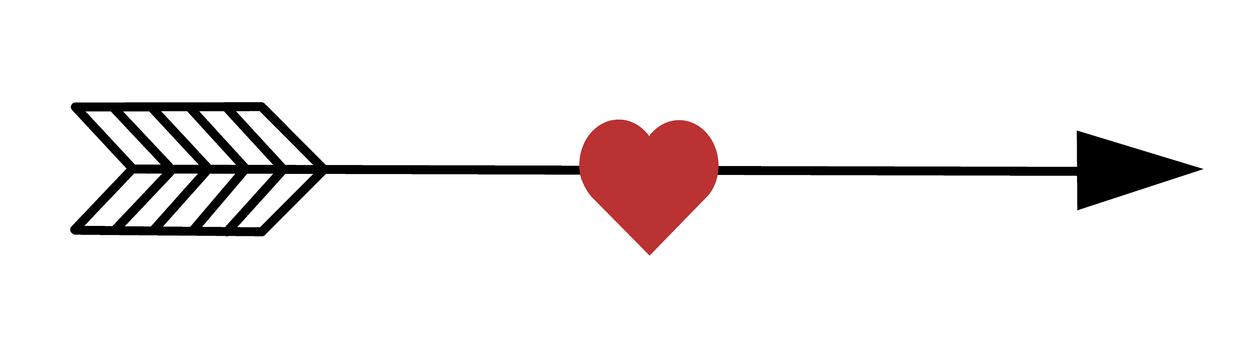 刺穿心臟的箭
