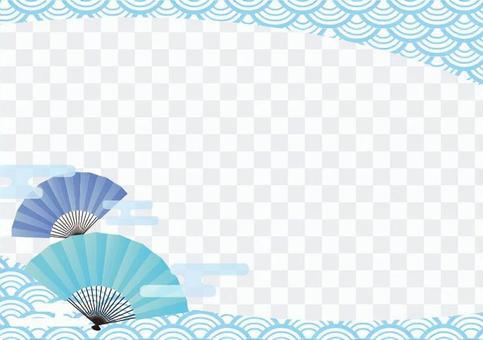 夏季材料033風扇框架