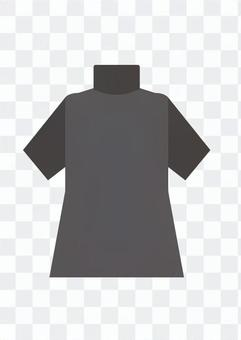 High neck (black)
