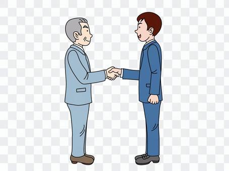 Handshake (establishment of negotiation) 1