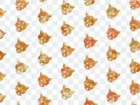 Shiba inu pattern