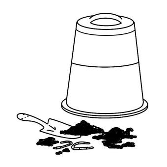 用 compost_black 和 white 製作堆肥