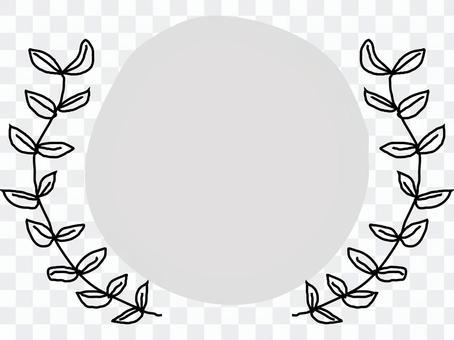 葉框架圈框