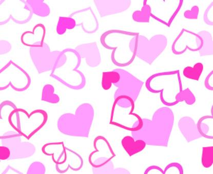 Heart with no seams wallpaper