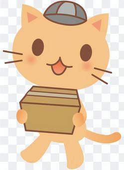 貓攜帶行李