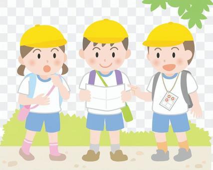 Extracurricular Learning Walk Rally
