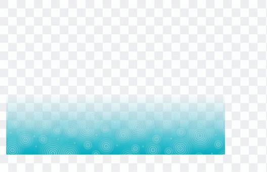 雨波紋框架壁紙