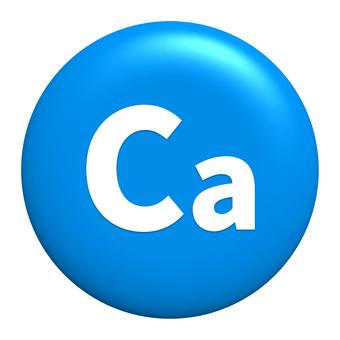 Calcium symbol icon transparent