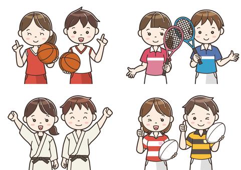 Club activity illustration 06