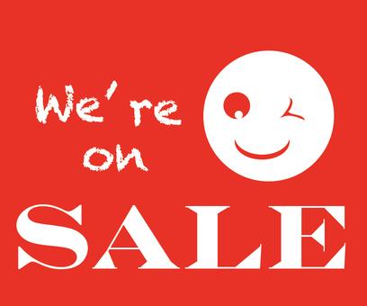 Sale's banner advertisement