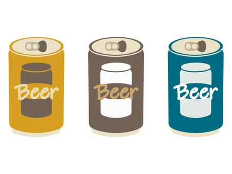 罐頭是回收的廢物