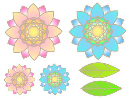 Flower set 01