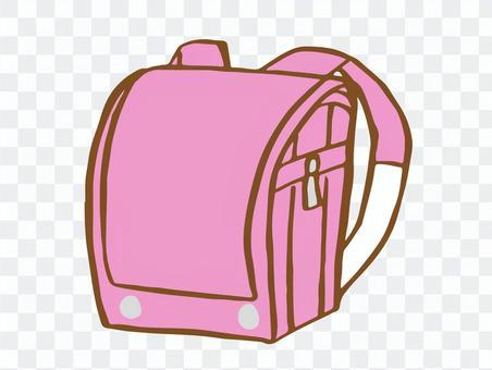 書包(粉紅色)