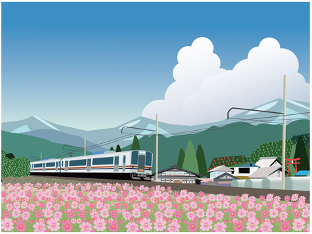 宇宙和火車
