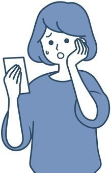 為在看到智能手機時感到困惑的女性設計的簡潔設計
