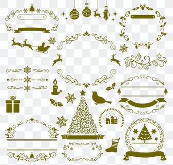 聖誕框架套2