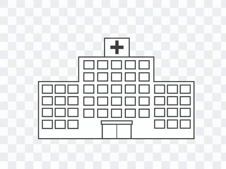 醫院圖圖標