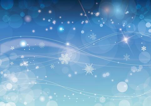 閃閃發光的背景材料雪