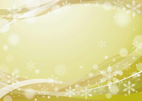 雪水晶框架黃金