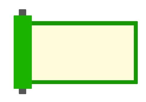 Green roll frame