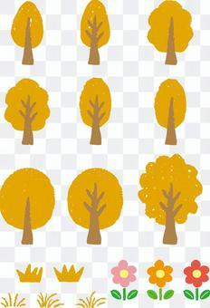 Wood (yellow)