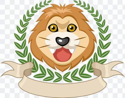 獅子勝利會徽標記