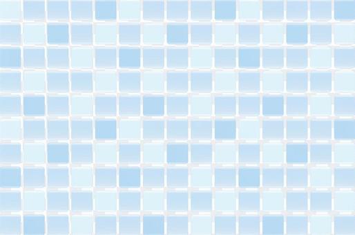 瓷磚圖案(藍色)