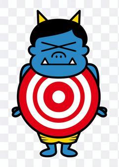 惡魔目標(藍色)