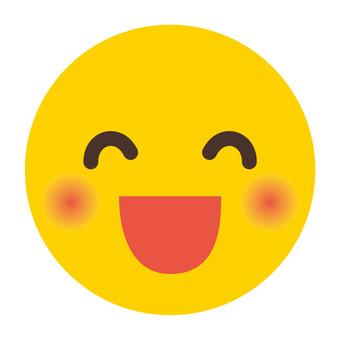 人臉圖標 02_smiling