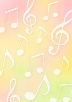 Musical notes and background sound background 2
