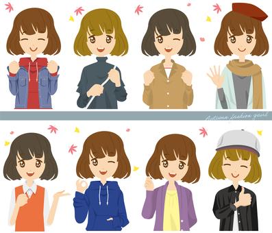 Girl autumn fashion 3