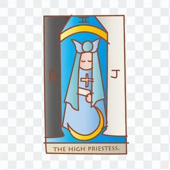 塔羅牌女教皇