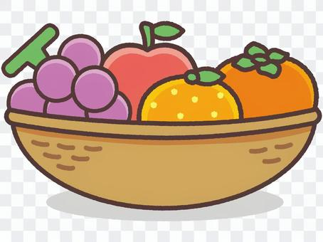 果物の詰め合わせ