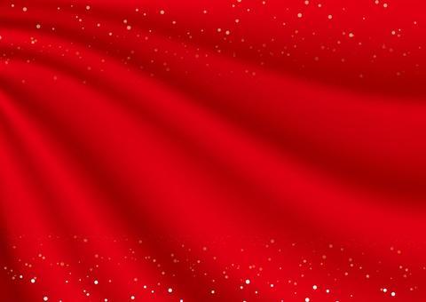 懸垂式窗簾(紅布·明星)