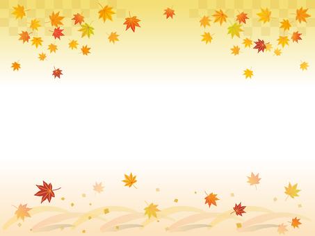 秋葉背景素材