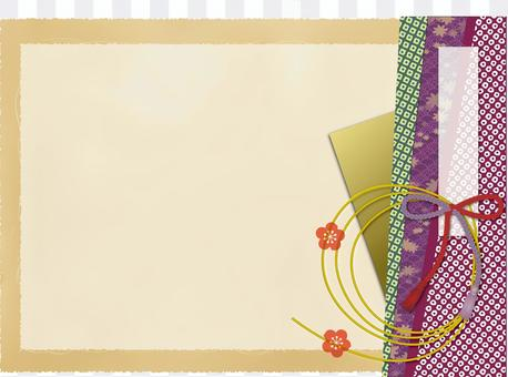Japanese style background material 7