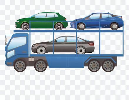 大型卡車4車輛運輸