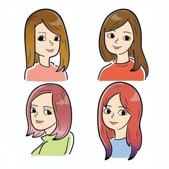 女性(4人)