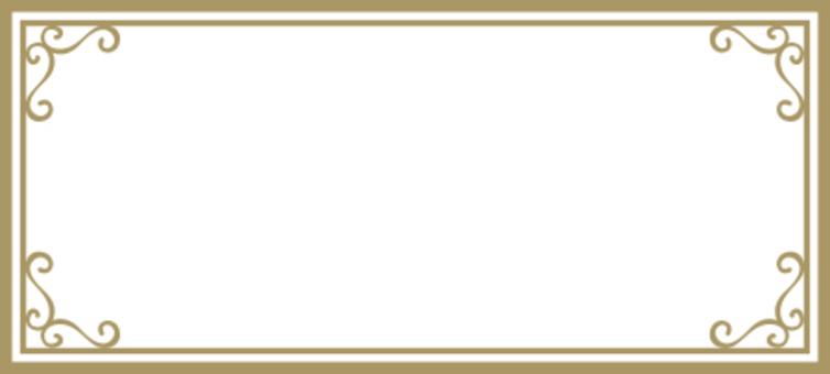 裝飾框架黃金