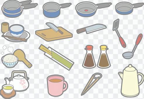 Kitchen supplies Summary