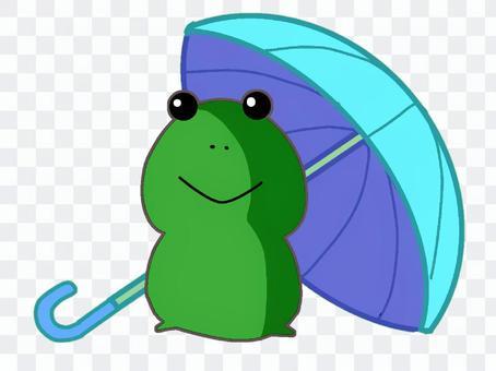 雨傘和青蛙