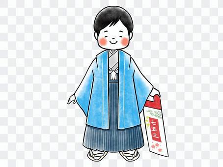 七子山5歲男孩