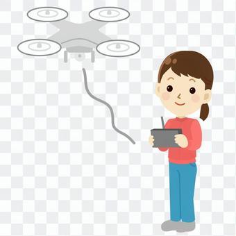 無人機操作無母線