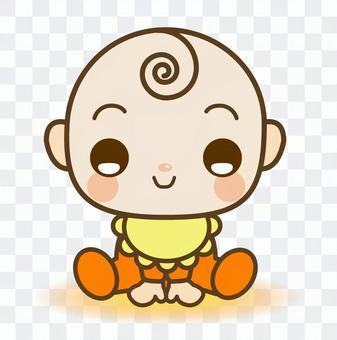 Sitting Baby Smile